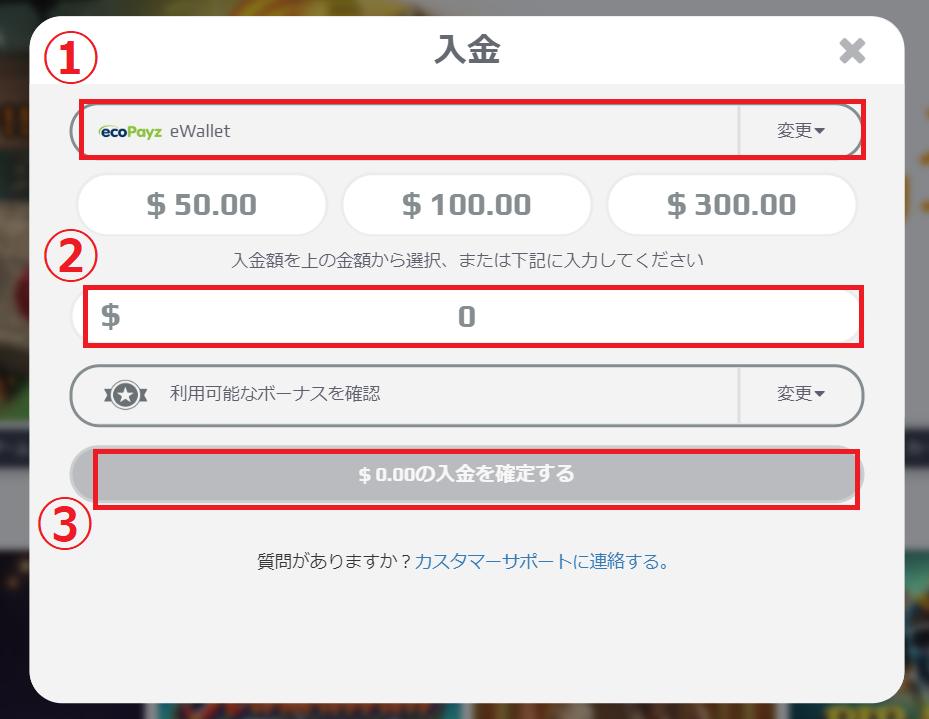 【図解】ネットベットのエコペイズ入金出金マニュアル!限度額や手数料も