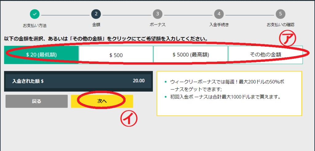【図解】ベットティルトの入金方法マニュアル!最低入金金額・入金限度額・手数料すべて解説