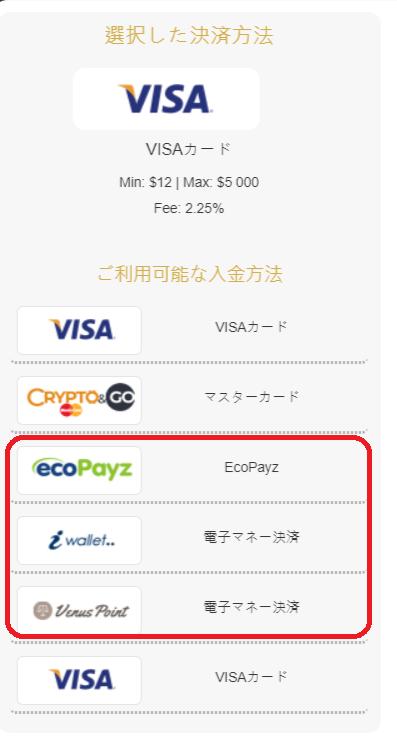 【公式にない情報】インターカジノの入金方法マニュアル!最低入金額・入金限度額・手数料も解説