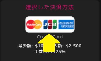 インターカジノにJCBで入金しました!実際の入金限度額や手数料も共有します